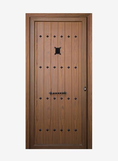 Talleres emilio l pez paneles para puertas de aluminio for Fabrica de puertas de aluminio